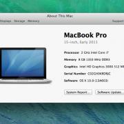 Macbook Pro 15.2011.6