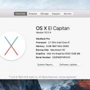 Macbook Pro Retina 13.1