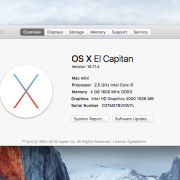 Mac mini 2.5GHz.6