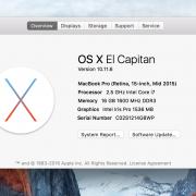 Macbook Pro 15.6