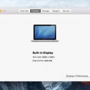Macbook Pro 15.7