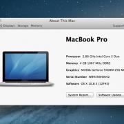 Macbook Pro 15 Core 2.7