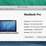 Macbook Pro 13.7