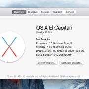 Macbook Air 13.6